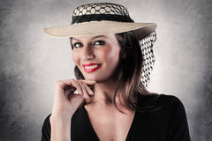 Elegant woman Royalty Free Stock Photos