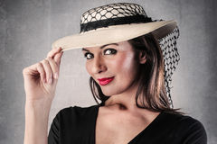 Elegant woman Royalty Free Stock Photography