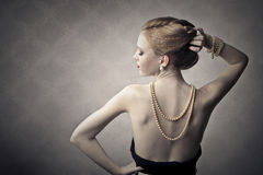 Elegant woman Royalty Free Stock Image