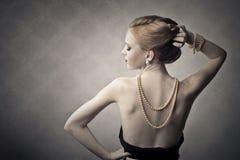 Elegant woman Royalty Free Stock Image