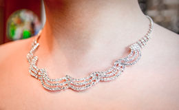 elegant women's jewelry Royalty Free Stock Image