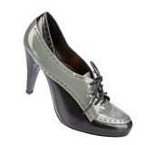 Elegant women winter shoes Royalty Free Stock Image