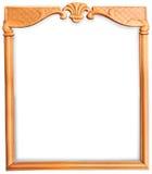 Elegant Wooden Frame Stock Photos