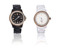 Elegant wrist watch for him and her Stock Image