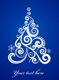 Elegant Xmas background Royalty Free Stock Image