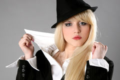 Elegant young business woman Stock Photography