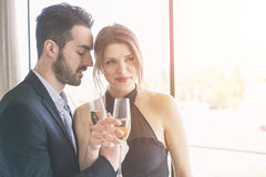 Elegant Young Couple Royalty Free Stock Photo