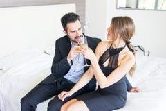Elegant Young Couple Stock Image