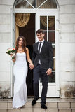 Elegant young couple Stock Photo