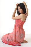 Elegant young girl stock photos