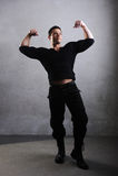 Elegant young handsome bodybuilder Royalty Free Stock Photo
