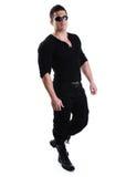 Elegant young handsome bodybuilder Stock Image