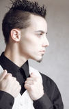 Elegant young handsome man Royalty Free Stock Photos