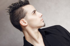 Elegant young handsome man Royalty Free Stock Photo