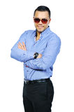 Handsome man in sunglasses Royalty Free Stock Image