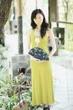 Elegant  young lady Stock Image