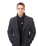 Elegant young man Stock Image