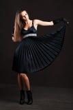 Elegant young woman Stock Photos