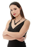 Elegant young woman Royalty Free Stock Image