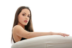 Elegant young woman Stock Image