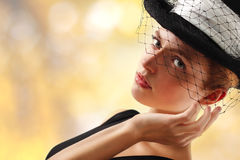 Elegant young woman Stock Photography