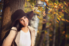 Elegant young woman portrait Royalty Free Stock Photos