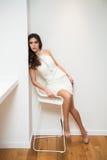 Elegant young woman Royalty Free Stock Photos