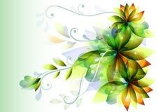 eleganta blommor för idérik design Stock Illustrationer