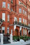 eleganta london townhouses Royaltyfri Fotografi