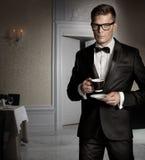 eleganta män royaltyfria bilder