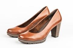 Eleganta par av skor för kvinna royaltyfri fotografi