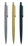 eleganta pennor tre Arkivfoton