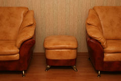 eleganta sofas Arkivfoton