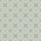 Elegante antieke achtergrond van patroon van de lint het dwarsbloem Royalty-vrije Stock Fotografie