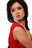 Elegante Aziatische vrouw Stock Foto