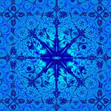Elegante blaue abstrakte Hintergrund-Auslegung-Schablone Stockfotos