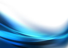 Elegante Blauwe Abstracte Achtergrond Royalty-vrije Stock Afbeeldingen
