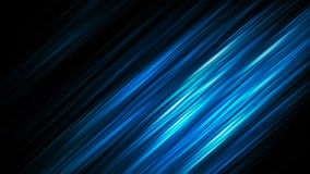 Elegante blauwe abstracte glanzende strepen Stock Foto's