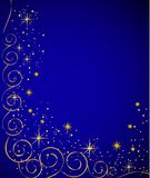 Elegante blauwe achtergrond,   Stock Foto's