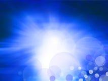 Elegante Blauwe Achtergrond Royalty-vrije Stock Foto