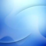 Elegante blauwe achtergrond met plaats voor tekst. Stock Afbeelding