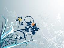 Elegante bloemenachtergrond Royalty-vrije Stock Afbeeldingen