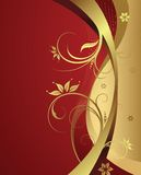Elegante bloemenachtergrond Royalty-vrije Stock Foto