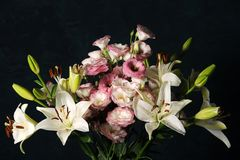 Elegante bloemensamenstelling Stock Foto