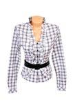 Elegante blouse op een wit. Royalty-vrije Stock Afbeelding