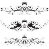 Elegante borstelplons Stock Afbeeldingen