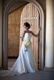 Elegante Bruid Stock Afbeelding