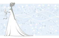 Elegante bruid Royalty-vrije Stock Afbeeldingen