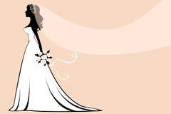 Elegante bruid Royalty-vrije Stock Fotografie
