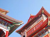 Elegante Chinese tempel Stock Foto's
